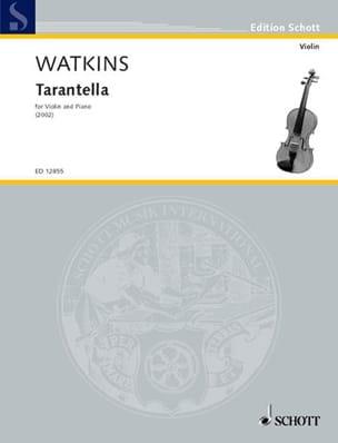 Tarantelle - Huw Watkins - Partition - Violon - laflutedepan.com