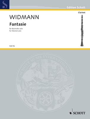 Jörg Widmann - Fantasie - Sheet Music - di-arezzo.co.uk