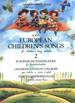 Andras Soos - European Children's Songs Volume 2 - Partition - di-arezzo.fr