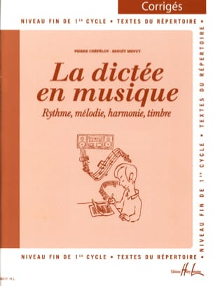 Pierre CHEPELOV et Benoit MENUT - The Dictation in Music - Answer Key - Volume 3 - Sheet Music - di-arezzo.co.uk