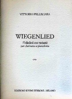 Vittorio Fellegara - Wiegenlied - Sheet Music - di-arezzo.com