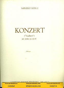 Konzert - Partitura Sandro Gorli Partition Grand format - laflutedepan