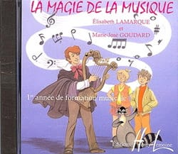 Elisabeth LAMARQUE et Marie-José GOUDARD - CD - The Magic of Music Volumen 1 - Partitura - di-arezzo.es