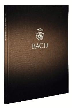 BACH - Erster Teil der Klavierübung. Sechs Partiten BWV 825-830 - Partition - di-arezzo.fr