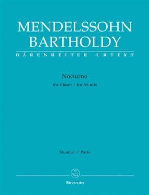 MENDELSSOHN - Nocturno Pour Vents- Partition - di-arezzo.ch