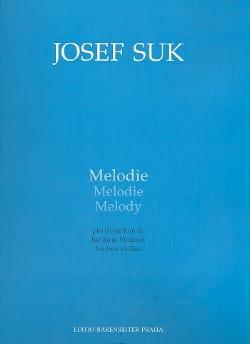 Joseph Suk - Mélodie - Partition - di-arezzo.fr