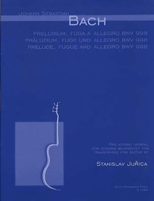 BACH - Präludium, Fuge u. Allegro BWV 998 - Gitarre - Sheet Music - di-arezzo.co.uk