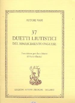 37 Duetti liutistici del rinascimento inglese Partition laflutedepan