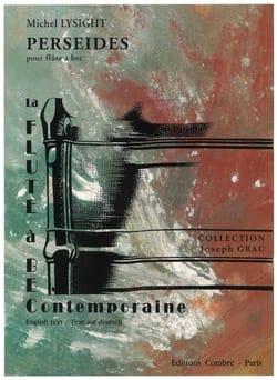 Michel Lysight - Perséides - Partition - di-arezzo.fr