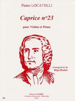 Caprice n° 23 Pietro Locatelli Partition Violon - laflutedepan