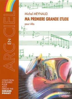 Ma première grande étude - Michel Meynaud - laflutedepan.com