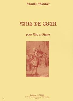 Pascal Proust - Airs de cour - Partition - di-arezzo.fr