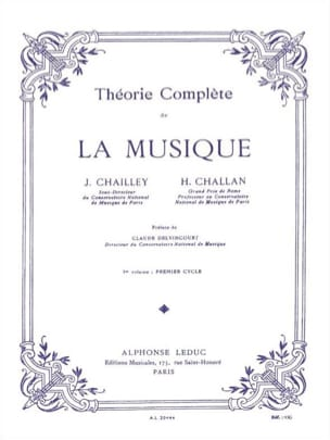 Jacques Chailley / Henri Challan - Complete Theory of Music - Volume 1 - Sheet Music - di-arezzo.com