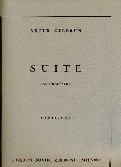 Artur Gelbrun - Suite - Partitura - Sheet Music - di-arezzo.co.uk