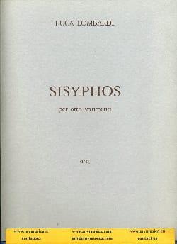 Sisyphos - 8 strumenti - Luca Lombardi - Partition - laflutedepan.com