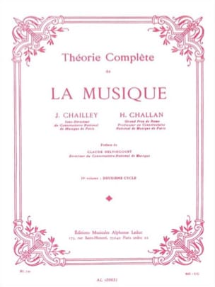 Jacques Chailley / Henri Challan - Complete Theory of Music Volume 2 - Partitura - di-arezzo.es