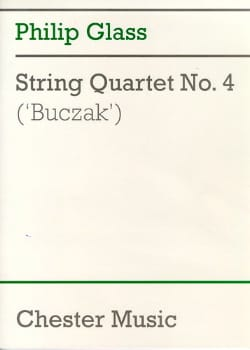 String quartett n° 4 - Score - Philip Glass - laflutedepan.com