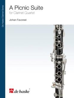 A Pic-Nic Suite - Clarinet quartet - Johan Favoreel - laflutedepan.com