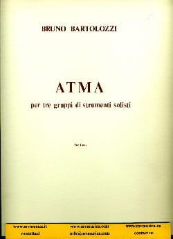 Atma -Partitura Bruno Bartolozzi Partition laflutedepan