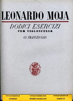 Leonardo Moja - 12 Exercises op. 2 - Sheet Music - di-arezzo.co.uk