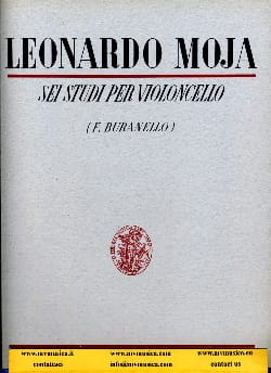 Leonardo Moja - 6 Studies for cello op. 24 - Sheet Music - di-arezzo.co.uk