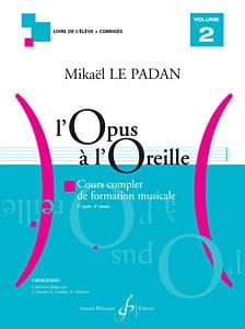 Mikaël LE PADAN - Opus to the Ear - Volume 2 - Sheet Music - di-arezzo.co.uk