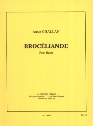 Annie Challan - Brocéliande - Sheet Music - di-arezzo.co.uk