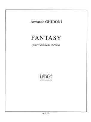 Fantasy - Armando Ghidoni - Partition - Violoncelle - laflutedepan.com
