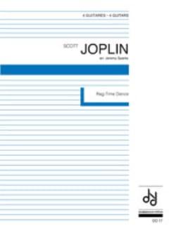 Rag-Time Dance - 4 Guitares JOSPLIN Partition Guitare - laflutedepan