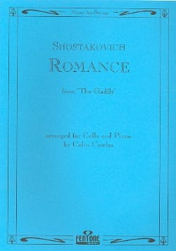 CHOSTAKOVITCH - Romance from The Gadfly - Cello - Sheet Music - di-arezzo.com