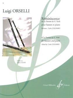 Luigi Orselli - Reminiscence - Sheet Music - di-arezzo.com
