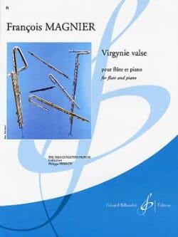 Francois Magnier - Virgynie valse - Partition - di-arezzo.fr