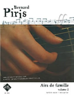 Airs de famille Volume 2 Bernard Piris Partition laflutedepan