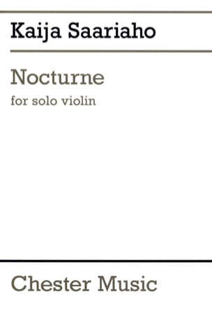 Kaija Saariaho - nocturne - Sheet Music - di-arezzo.co.uk