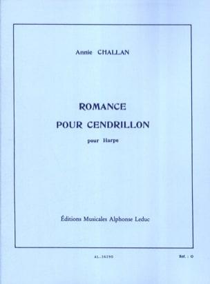 Annie Challan - Romance pour Cendrillon - Partition - di-arezzo.fr