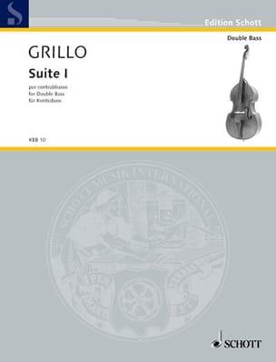Ferdinand Grillo - Suite n° 1 – Contrebasse - Partition - di-arezzo.fr