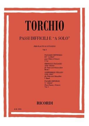Passi Difficili e a solo - Volume 1 Baldassare Torchio laflutedepan