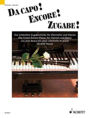 Da Capo ! Encore ! - Partition - Clarinette - laflutedepan.com