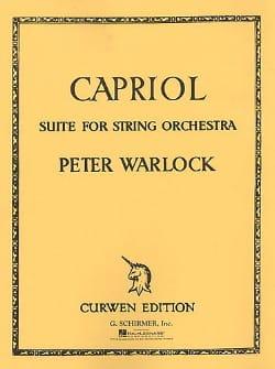 Capriol Suite - Peter Warlock - Partition - laflutedepan.com
