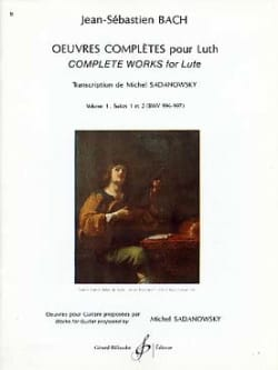 BACH - Complete works for lute - Volume 1: Suites n ° 1 and 2 - Sheet Music - di-arezzo.com