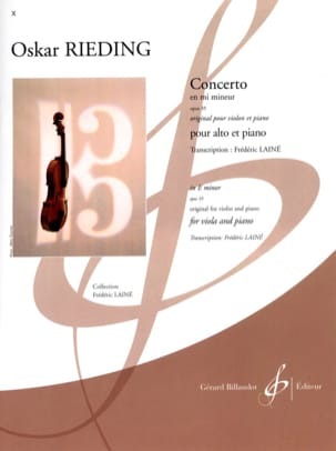 Oskar Rieding - Concerto op. 35 in E minor - Sheet Music - di-arezzo.com