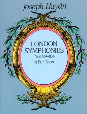 London Symphonies N° 99 à 104 - HAYDN - Partition - laflutedepan.com