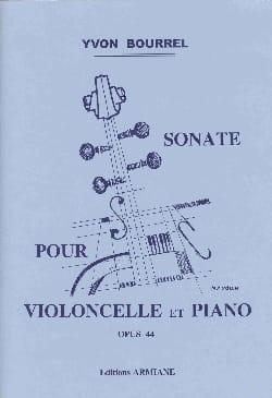 Yvon Bourrel - Sonate op. 44 - Partition - di-arezzo.fr