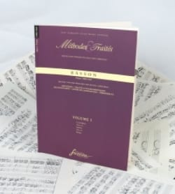 Methods and Treaties Volume 1 - Bassoon - Partition - di-arezzo.com