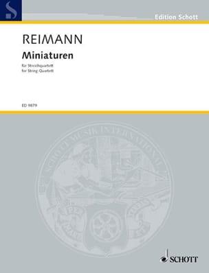 Aribert Reimann - Miniaturen - Partitur + Stimmen - Partition - di-arezzo.fr