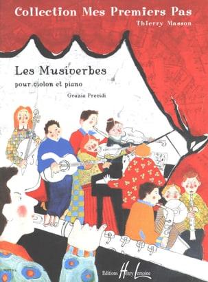 Grazia Previdi - Les Musiverbes - Partition - di-arezzo.fr
