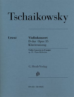 TCHAIKOVSKY - Violinkonzert D-hard op. 35 - Sheet Music - di-arezzo.co.uk