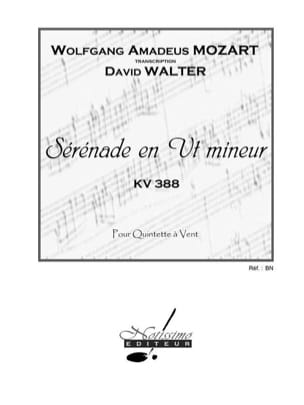 Mozart Wolfgang Amadeus / Walter David - Serenade in C Minor Kv 388 - Quintet à Vents - Sheet Music - di-arezzo.com