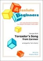 Toreador's Song extr. de Carmen - Georges Bizet - laflutedepan.com