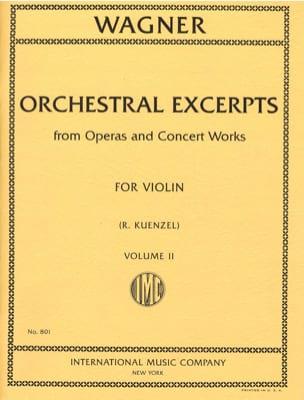 Orchestral excerpts - Vol 2 - Violin - laflutedepan.com
